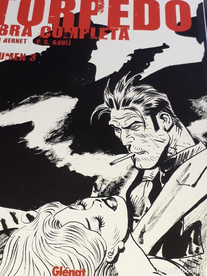 TORPEDO VOLUMEN 3 JORDI BENET E.S. ABULÍ GLÉNAT 2004 TAPAS DURAS (Tebeos y Comics - Glénat - Autores Españoles)