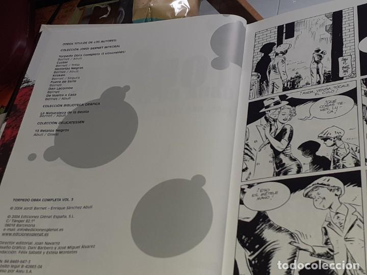 Cómics: TORPEDO VOLUMEN 3 JORDI BENET E.S. ABULÍ GLÉNAT 2004 TAPAS DURAS - Foto 3 - 222543501