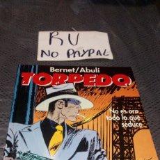 Cómics: TORPEDO TOMO 10 GLENAT NO ES ORO TODO LO QUE SEDUCE TAPA DURA. Lote 223041761