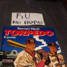 Cómics: TORPEDO TOMO 11 EL PARTIDO GLENAT TAPA DURA. Lote 223041875