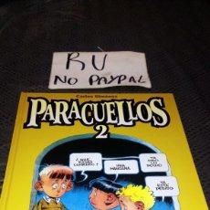 Cómics: CARLOS GIMÉNEZ PARACUELLOS 2 GLENAT TAPA DURA. Lote 223042750
