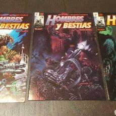 Cómics: COMICS - HOMBRES Y BESTIAS - RAFA GARRES - SERIE LIMITADA COMPLETA 3 NÚMEROS - GLENAT. Lote 223513841