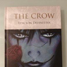 Cómics: THE CROW (EL CUERVO) EDICIÓN DEFINITIVA DE JAMES O´BARR ED GLENAT. Lote 223914641