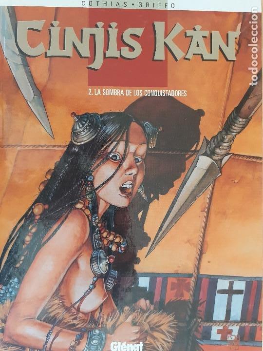CINJIS KAN T. 2. LA SOMBRA DE LOS CONQUISTADORES. COTHIAS - GRIFFO. GLÉNAT 1999. MUY BUEN ESTADO (Tebeos y Comics - Glénat - Autores Españoles)