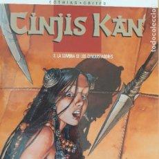 Cómics: CINJIS KAN T. 2. LA SOMBRA DE LOS CONQUISTADORES. COTHIAS - GRIFFO. GLÉNAT 1999. MUY BUEN ESTADO. Lote 223976880