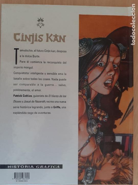 Cómics: Cinjis Kan T. 2. La sombra de los conquistadores. Cothias - Griffo. Glénat 1999. Muy buen estado - Foto 2 - 223976880