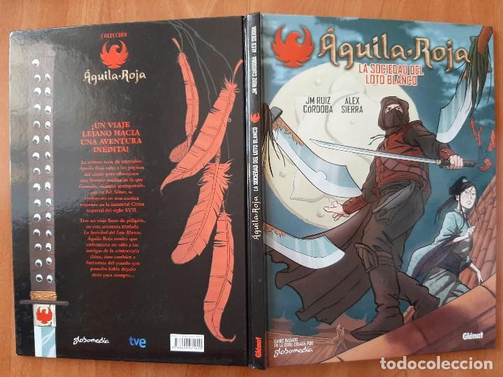 2011 AGUILA ROJA : LA SOCIEDAD DEL LOTO BLANCO - JM RUIZ CÓRDOBA . ÁLEX SIERRA (Tebeos y Comics - Glénat - Autores Españoles)