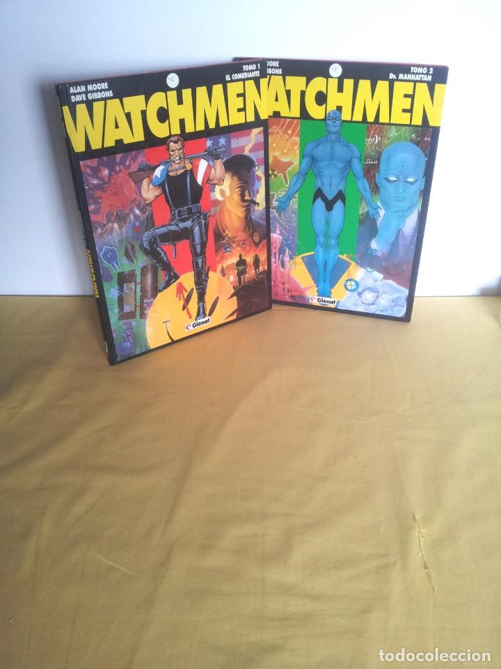 ALAN MOORE Y DAVE GIBBONS - WATCHMEN ( 2 TOMOS) - GLENAT 1993 (Tebeos y Comics - Glénat - Comic USA)
