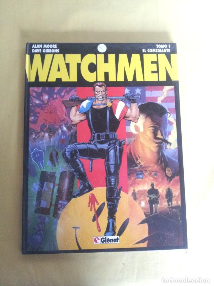 Cómics: ALAN MOORE Y DAVE GIBBONS - WATCHMEN ( 2 TOMOS) - GLENAT 1993 - Foto 2 - 224144033