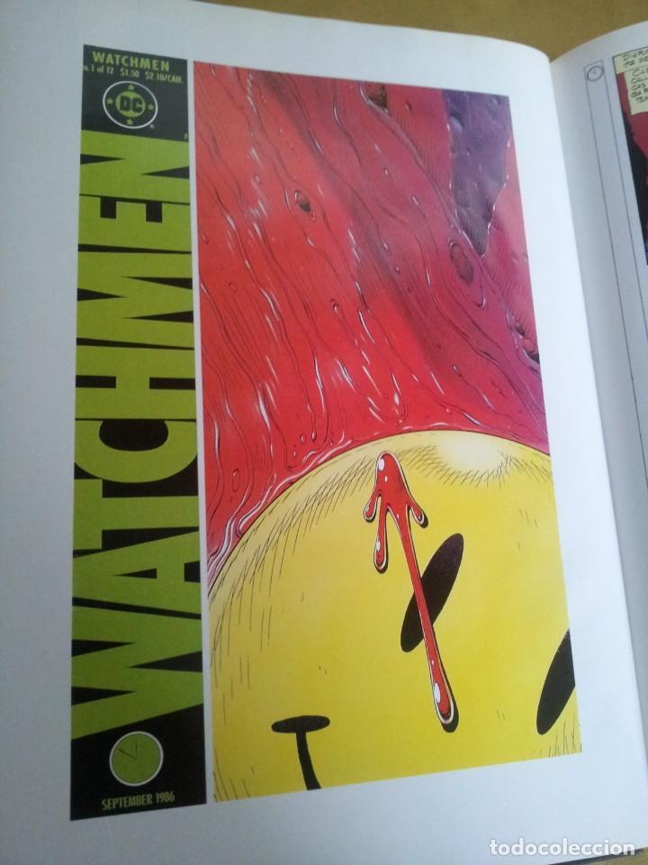 Cómics: ALAN MOORE Y DAVE GIBBONS - WATCHMEN ( 2 TOMOS) - GLENAT 1993 - Foto 4 - 224144033
