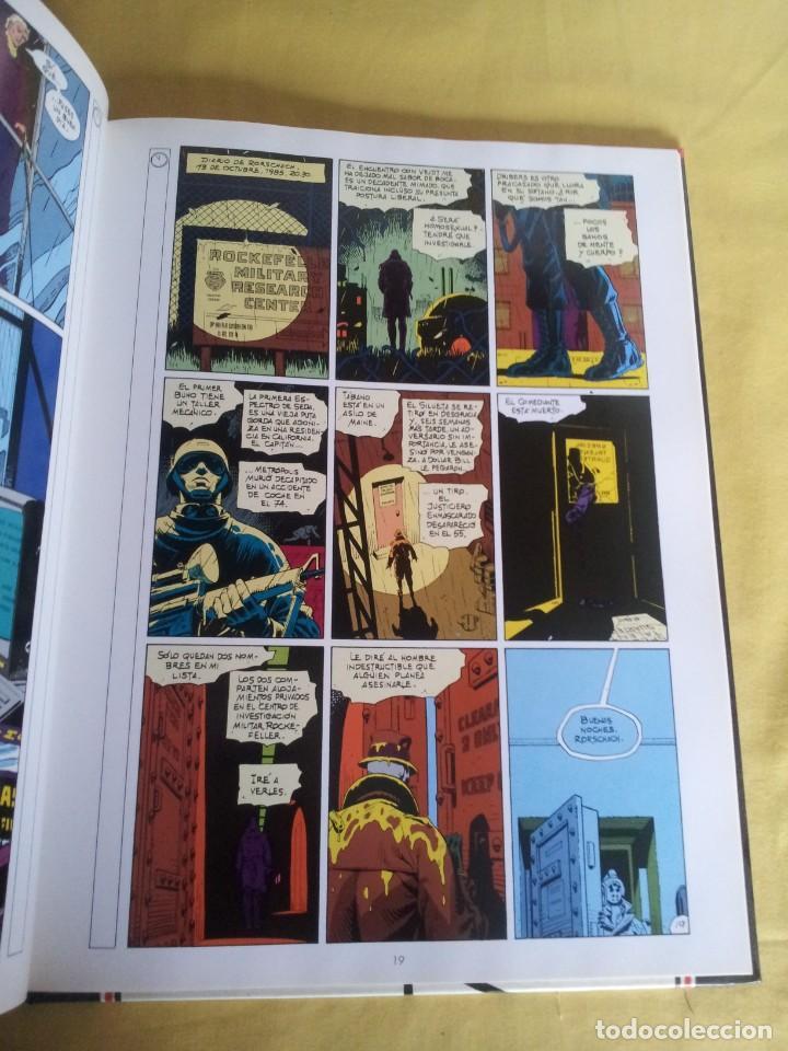 Cómics: ALAN MOORE Y DAVE GIBBONS - WATCHMEN ( 2 TOMOS) - GLENAT 1993 - Foto 5 - 224144033