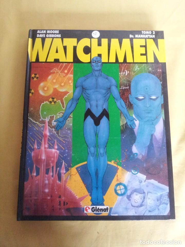Cómics: ALAN MOORE Y DAVE GIBBONS - WATCHMEN ( 2 TOMOS) - GLENAT 1993 - Foto 7 - 224144033