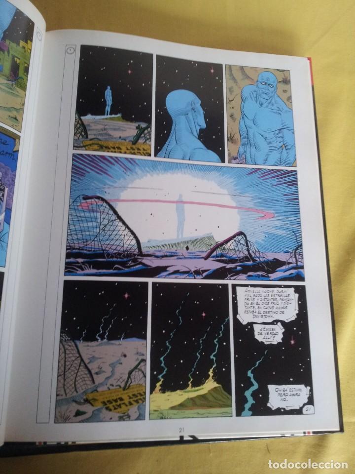 Cómics: ALAN MOORE Y DAVE GIBBONS - WATCHMEN ( 2 TOMOS) - GLENAT 1993 - Foto 9 - 224144033