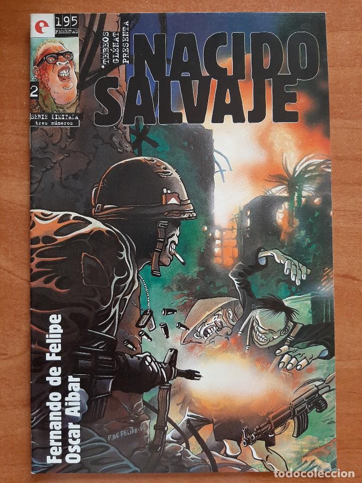 NACIDO SALVAJE - Nº 2 (Tebeos y Comics - Glénat - Autores Españoles)