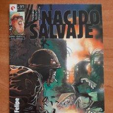 Cómics: NACIDO SALVAJE - Nº 2. Lote 224223730