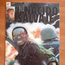 Cómics: NACIO SALVAJE Nº 3. Lote 224224416
