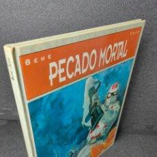 Cómics: PECADO MORTAL - COMIC DE BEHE & TOFF - GLENAT 1993 - TAPA DURA - BIBLIOTECA GRÁFICA. Lote 225247335