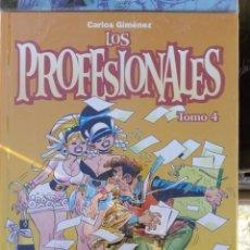Cómics: LOS PROFESIONALES TOMO 4 - CARLOS GIMÉNEZ. Lote 226975515