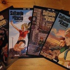 Cómics: * SALTANDO AL VACIO * MAN - EGO * GLENAT, 2007 * RUSTICA. COLOR * COLECCION COMPLETA 5 ALBUMES *. Lote 227216960