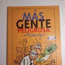Comics: MÁS GENTE PELIGROSA - BY VÁZQUEZ - GLÉNAT. Lote 227865000