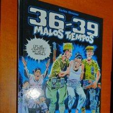 Cómics: 36-39. MALOS TIEMPOS. CARLOS GIMENEZ. GLENAT. TAPA DURA. BUEN ESTADO CON EX-LIBRIS.. Lote 228360740