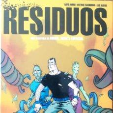 Cómics: RESIDUOS UNA AVENTURA DE MIRKO, AGENTE ESPECIAL. Lote 228686860