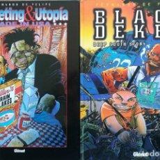 Cómics: BLACK DEKER I MARKETING & UTOPIA FERNANDO DE FELIPE. Lote 228687035