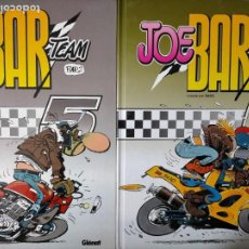 Cómics: JOE BAR TEAM GLENAT 5 Y TOMO 6. Lote 228778230