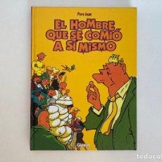 Cómics: EL HOMBRE QUE SE COMIÓ A SÍ MISMO DE PERE JOAN. GLENAT.. Lote 229045680