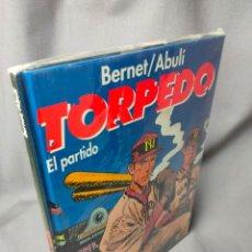Cómics: TORPEDO - Nº 11 - EL PARTIDO - GLENAT - BERNET/ABULI - TAPA DURA. Lote 229812550