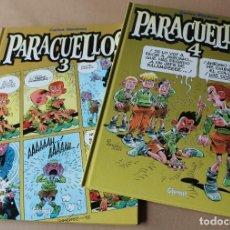 Comics: PARACUELLOS 3 4 – CARLOS GIMÉNEZ – GLENAT - MUY BUEN ESTADO - TAMBIÉN SUELTOS. Lote 228088955