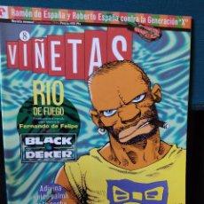 Comics: REVISTA VIÑETAS Nº 8 SEPTIEMBRE 1994. Lote 230501425