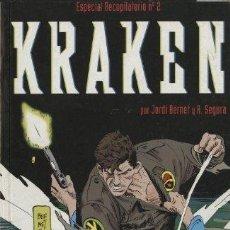 Comics: KRAKEN ESPECIAL RECOPILATORIO-2 (GLÉNAT, 1997) CON LOS NÚMEROS 5 AL 8. DE BERNET Y SEGURA. Lote 230669020
