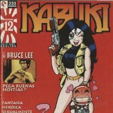 Cómics: KABUKI-12 (GLÉNAT, 1996) REVISTA SOBRE MANGA DIRIGIDA POR JORGE RIERA. Lote 290075713