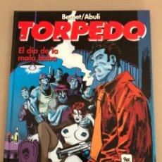 """Comics: TORPEDO """"EL DÍA DE LA MALA BABA"""", JORDI BERNET-SANCHEZ ABULI, ENCUADERNACIÓN EN CARTONÉ.. Lote 231145680"""