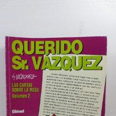 Cómics: QUERIDO SR. VAZQUEZ VOL. 2. Lote 231568485
