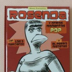 Cómics: ROSENDA Y OTROS MOMENTOS POP DE MANEL FONTDEVILA GLENAT. Lote 232009525