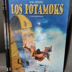 Cómics: LOS POTAMOKS - Nº 1 Y 2 - SFAR / MUNUERA - GLENAT - TAPA DURA. Lote 232566457