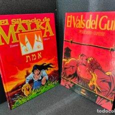 Cómics: EL SILENCIO DE MALKA - EL VALS DEL GULAG - PELLEJERO - GLENAT - LOS DOS EN TAPA DURA - COMO NUEVOS. Lote 232568310