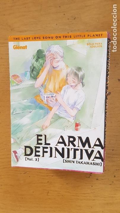 EL ARMA DIFINITIVA Nº3 SHIN TAKAHASHI (Tebeos y Comics - Glénat - Serie Erótica)