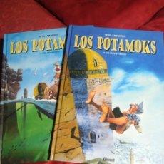 Comics: LOS POTAMOKS 1 Y 2 / SFAR- MUNUERA. Lote 233733705