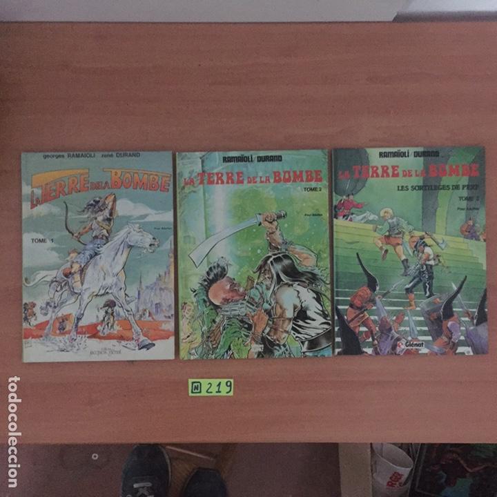 LA TERRE DE LA BOMBE 1,2,3 PRIMERA EDICIÓN (Tebeos y Comics - Glénat - Comic USA)
