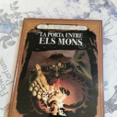 Comics: LES AVENTURES IMAGINARIES DEL JOVE VERNE:LA PORTA ENTRE ELS MONS I. Lote 234920725