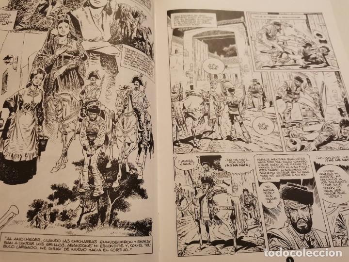 Cómics: BANDOLERO HISTORIA VERDADERA Y REAL JUAN CABALLERO EDICIONES LA TORRE 1ERA ED. 1987 - Foto 3 - 235364910
