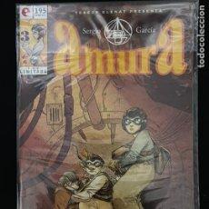 Cómics: AMURA 1, 2 Y 3 DE 6 - SERGIO GARCIA - GLENAT. Lote 235506845