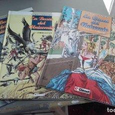 Cómics: X EN BUSCA DEL UNICORNIO 1 A 3 (COMPLETA), DE ANA MIRALLES Y EMILIO RUIZ (GLENAT). Lote 235907790