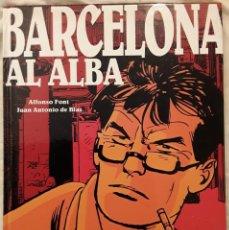 Cómics: BARCELONA AL ALBA - NOVELA GRÁFICA - ALFONSO FONT - GLÉNAT - 2004. Lote 236053085