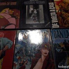 Cómics: LOTE DE 6 ALBUMES DE JORDI BERNET EDITADOS POR GLENAT. Lote 236099110