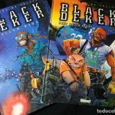 Fumetti: BLACK DEKER - DEEP SOUTH STORY Y YELLOW MOON. FERNANDO DE FELIPE - GLENAT. Lote 236426485