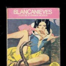 Cómics: BLANCANIEVES Y LOS SIETE ENANOS VICIOSOS N,4 EDICIONES ACTUALES S.A.1976 A COLOR. Lote 236717245
